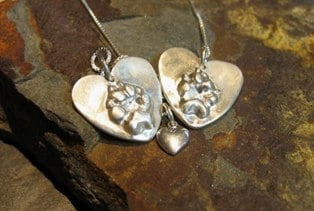 Companion Pawprint Necklace
