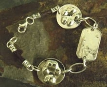 Multiple Pendant Bracelet