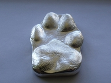 Paw Print Paperweight