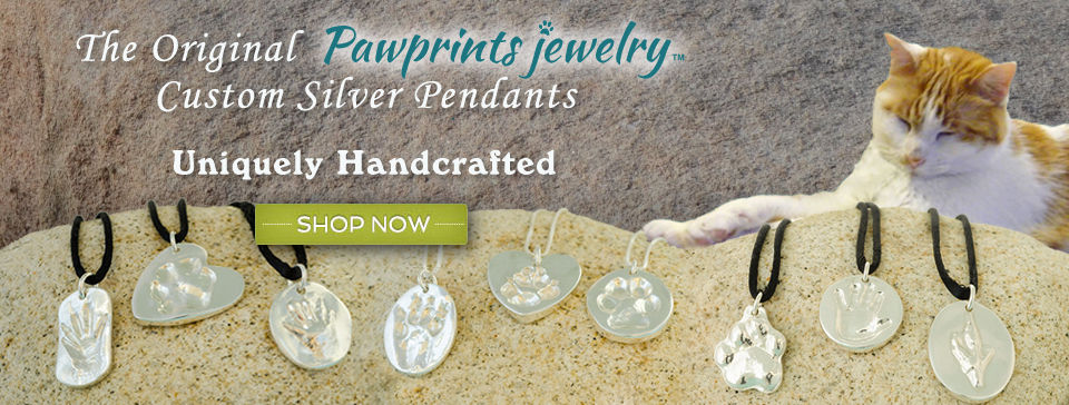 Pawprints Jewelry - The original custom silver pendants. Uniquely handcrafted.